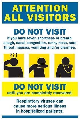 COVID Sign - Symptoms