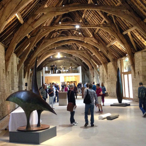 South West artists on show in ancient tithe barn