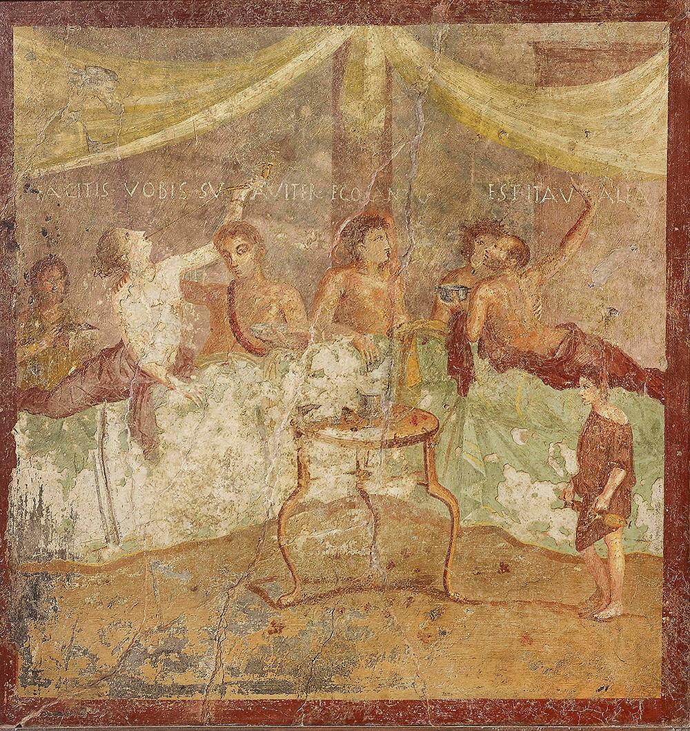 Dinner Party (c) Museo Archeologico Nazionale di Napoli