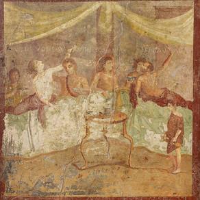 Last supper at Pompeii