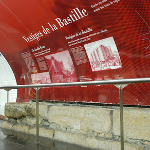 Looking for the lost walls of Paris