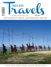 Timeless Travels 2016 - travel archaeology art magazine