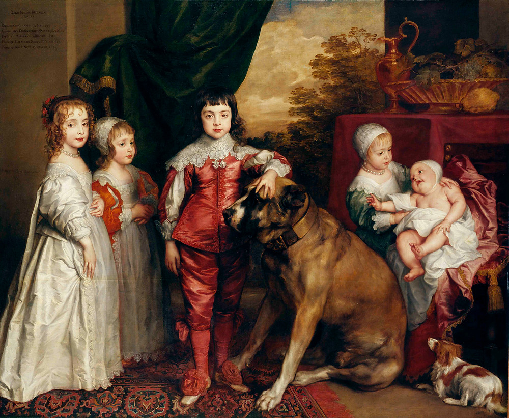 The five eldest children of Charles by Anthony Van Dyck