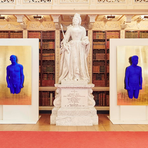 Yves Klein at Blenheim Palace