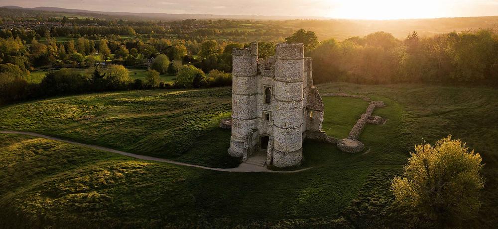Jonathan Reid, Donnington Castle