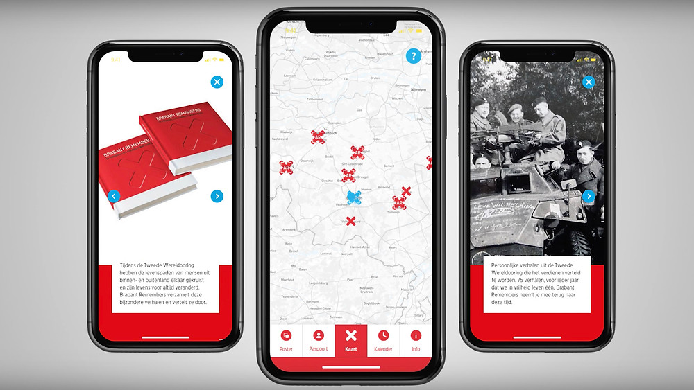 Images of Brabant Remembers app