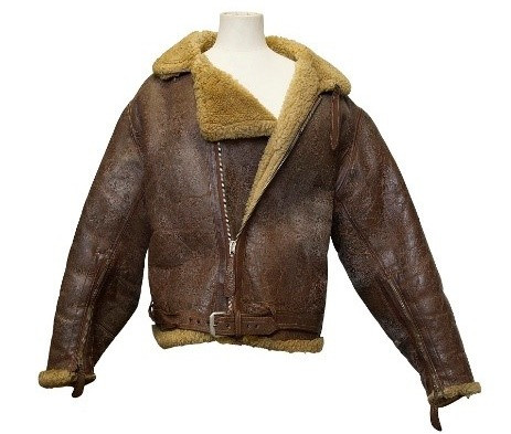A flying jacket from WWII fighter pilot
