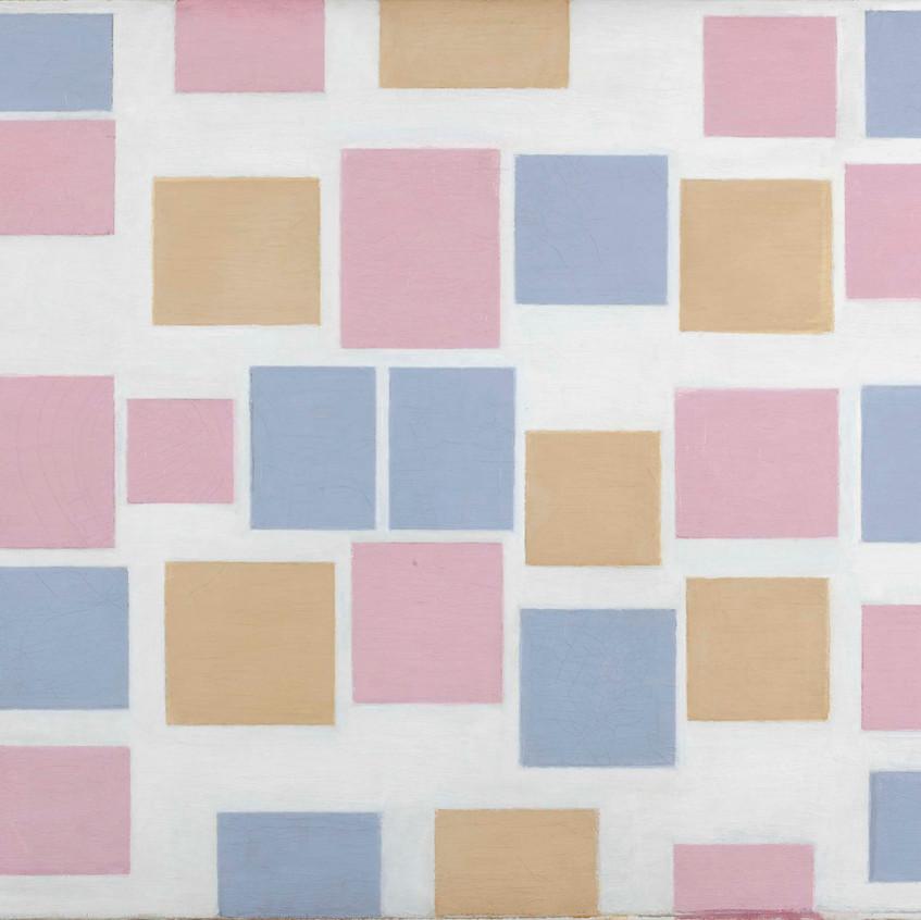 Piet Mondrian, Composition no.3 with colour planes, 1917