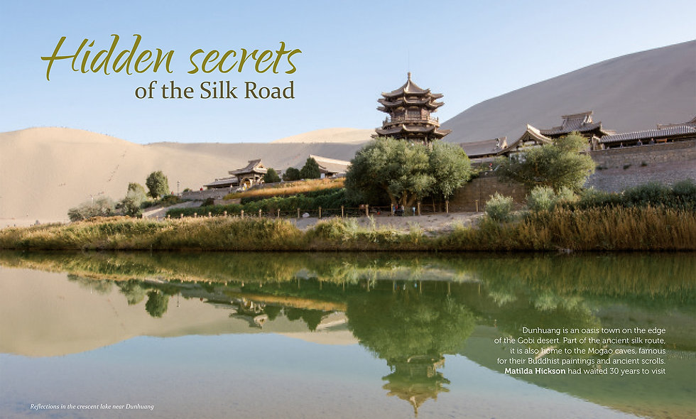 Hidden secrets of the Silk Road