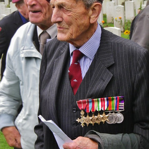 Lest we forget: Exclusive interview for Timeless Travels with WWII veteran, Colonel John Waddy