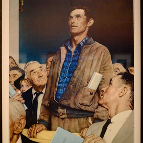 Rockwell exhibition in Caen captures the mood of America
