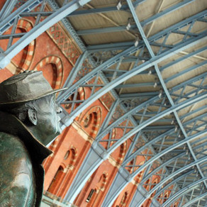 "St. Pancras, London: ""the most wonderful railway station in the world"""