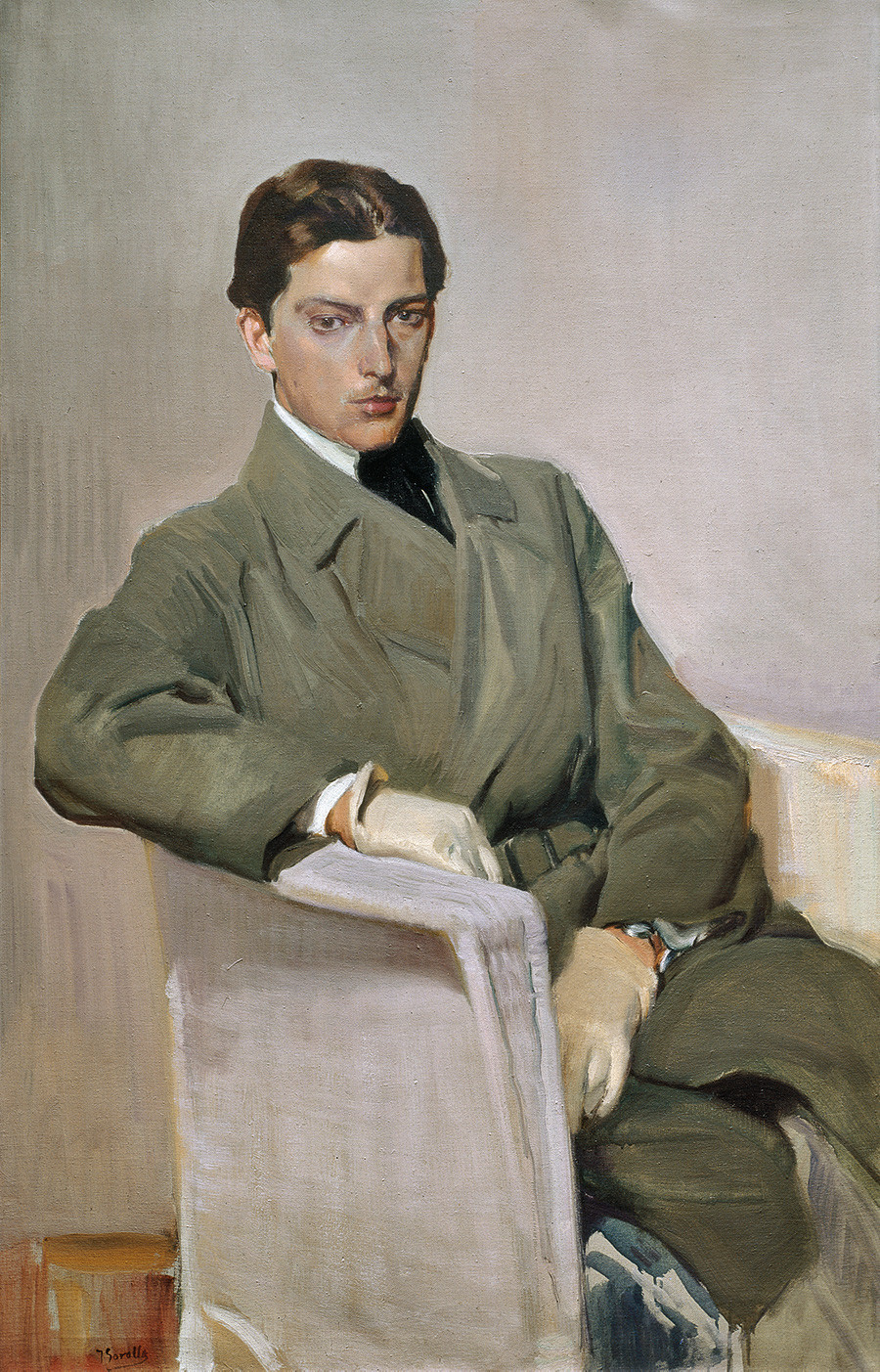 Self portrait by Joaquín Sorolla