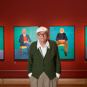 Hockney's portraits reveal much of artist