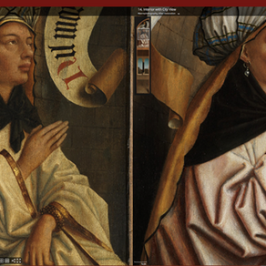 Updated website gives an even closer look at Van Eyck masterpieces