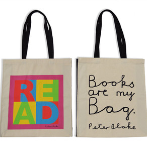 Grab yourself a Sir Peter Blake designed limited edition bag
