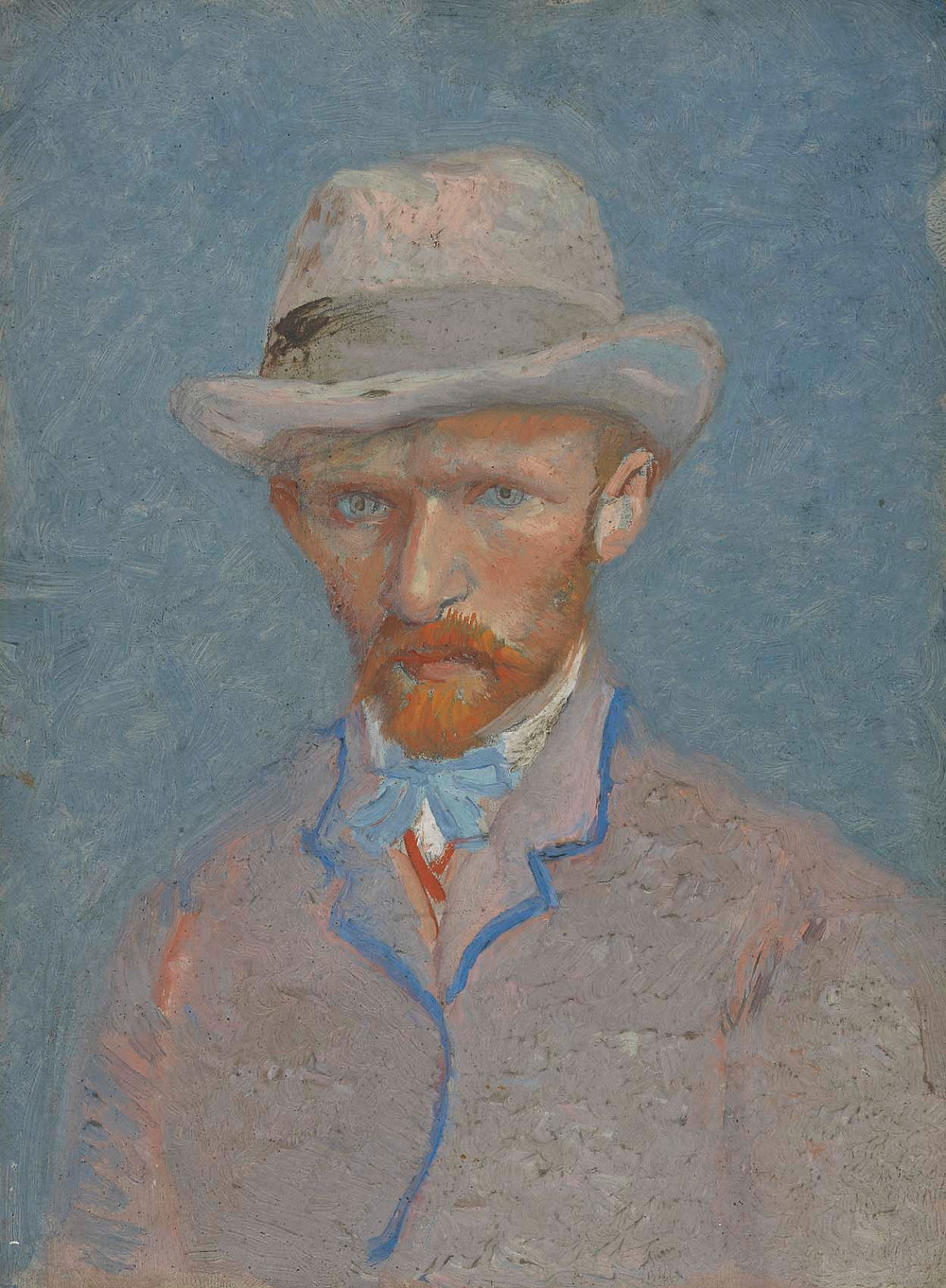 A portrait of Vincent's brother, Theo