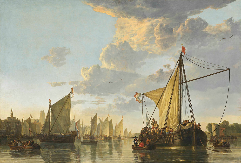 A. Cuyp, The Maas at Dordrecht, c. 1650, National Gallery of Art, Washington
