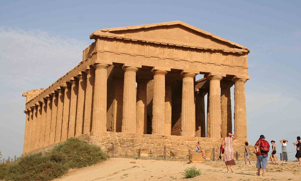 The Greek Temples of Sicily