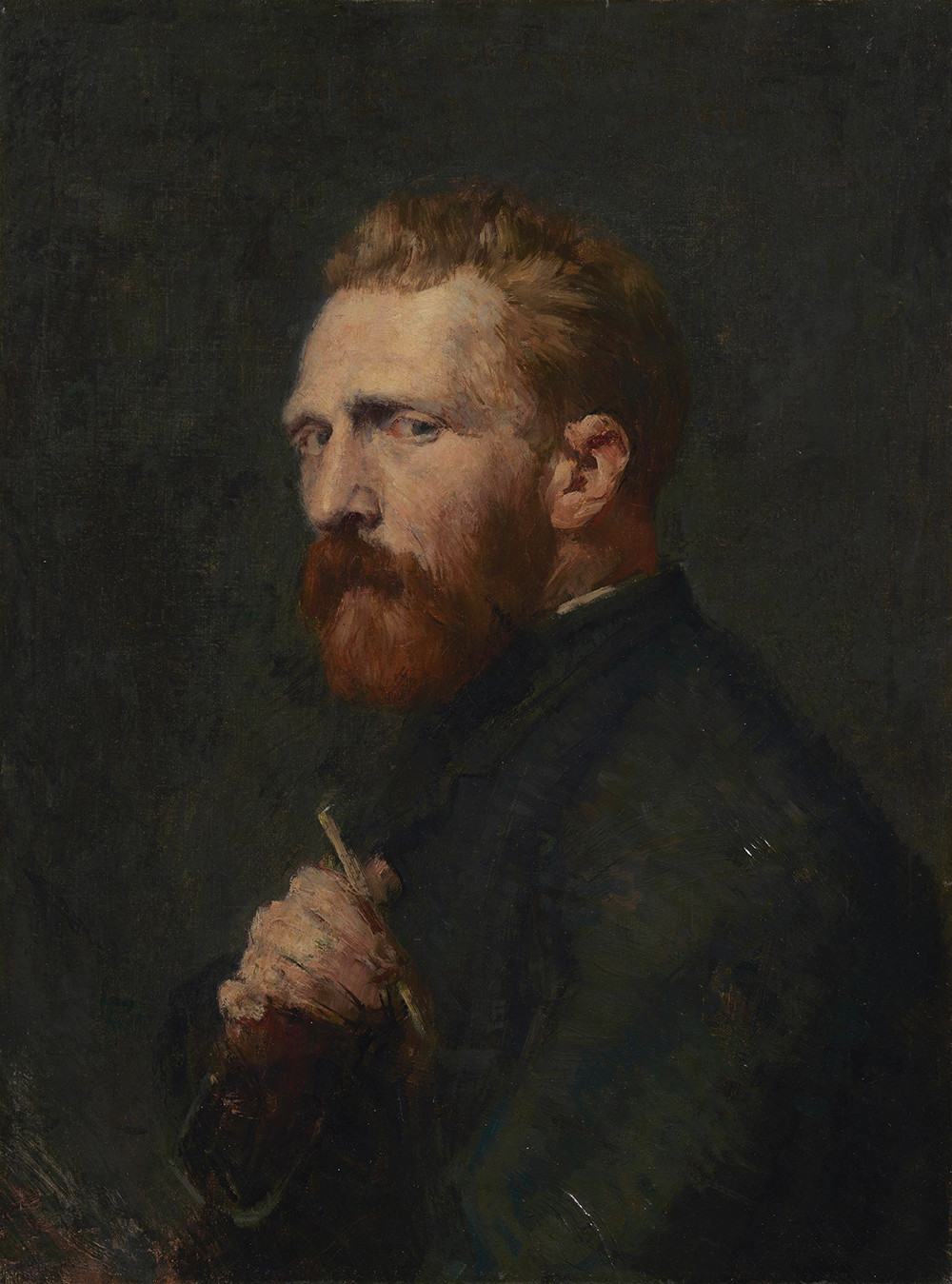Portrait of Vincent van Gogh by John Peter Russell