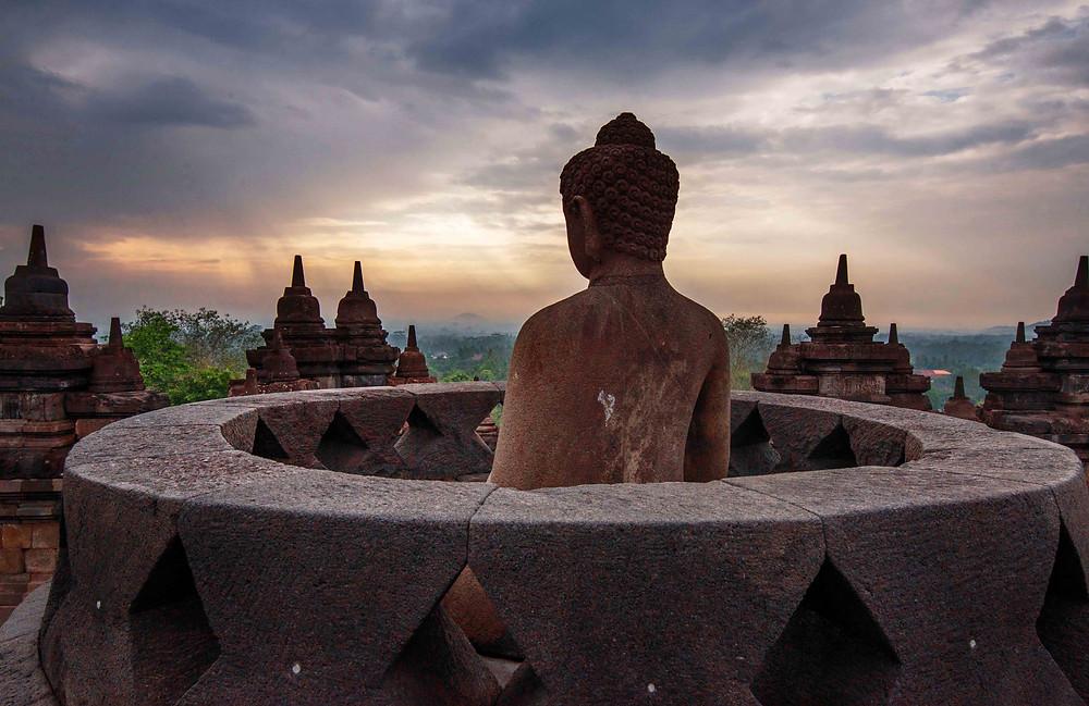 Sirsendu Gayen, Buddha of Borobudur, Java, Indonesia