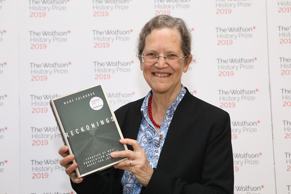 Mary Fulbrook, winner of the 2019 Wolfson History Prize