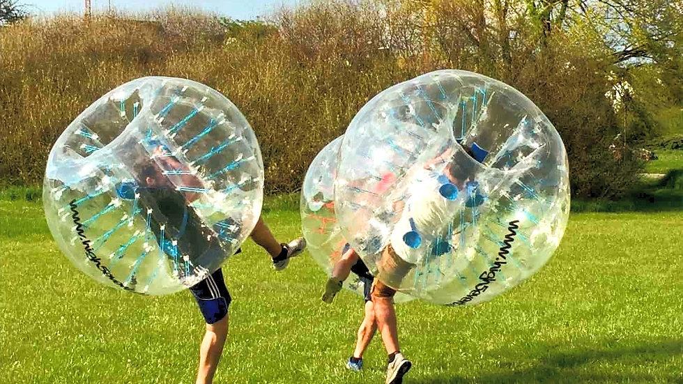 Bubble Soccer direkt auf deinem Sportplatz, ab