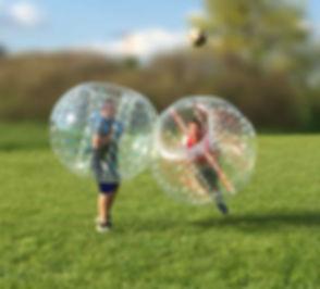 Bubble Soccer mieten in der Halle oder a