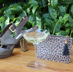 Ready or not Saturday night...here we come!  Our old favourite Kathryn Wilsons with our new favourite Wildside purse!