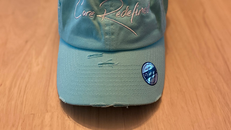 Core Redefined Distressed Cap Teal
