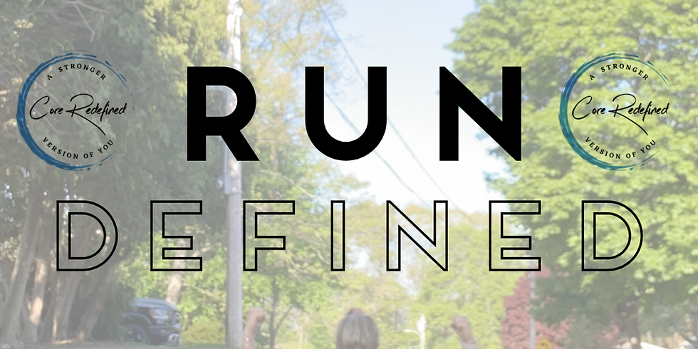 RUNdefined Traning Series