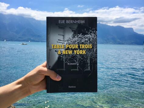 Elie Bernheim - Table pour trois à New York