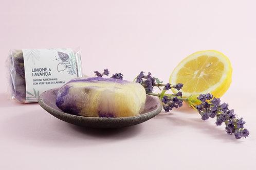 Sapone Bio Limone e Lavanda