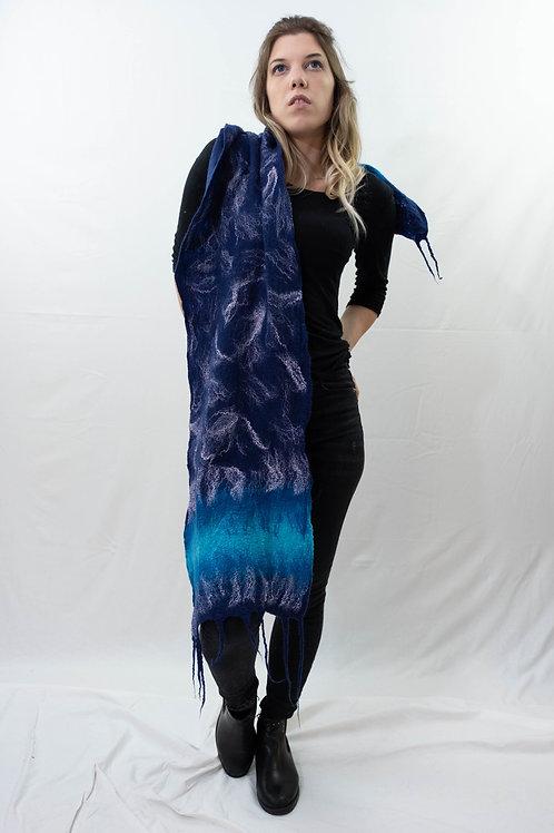Sciarpa blu marine