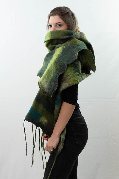 Sciarpona verde
