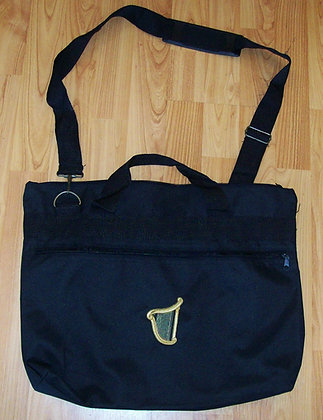 Embroidered Document Bag