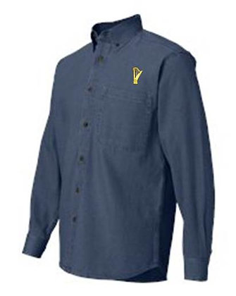 Embroidered Denim Shirt - MEN