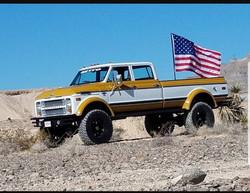 The Duke in the desert