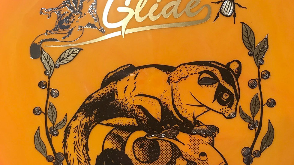 Glide Resistor - pumpkin orange