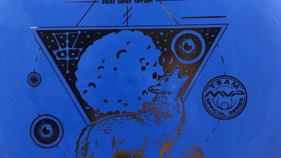 KALLIE 2021 Pilot - electron medium/firm, blue, gold foil, 169 grams