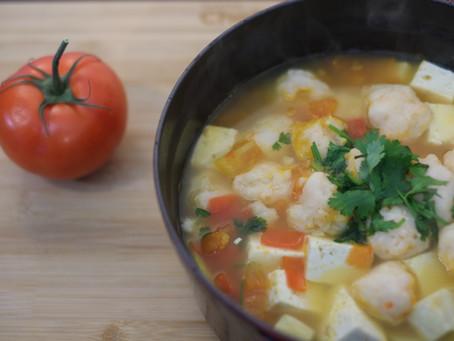 Chef's Choice Recipe – Shrimp Balls Tofu Hotpot