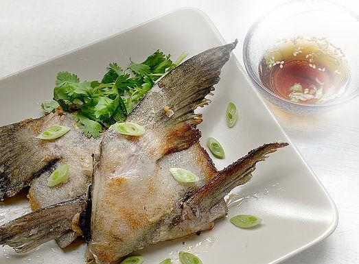 鹽燒黑魚鮫
