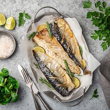 鹽燒挪威鯖魚片