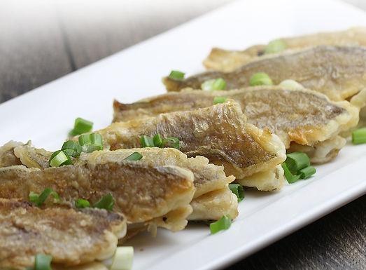 五香炸黃花魚