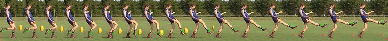 AFL Drop Punt Series Brisbane Lions Academy - Praxis Sport