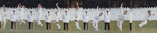 Marc Portus Bowling Honley UK 1990