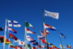 international flags for Olympic events o