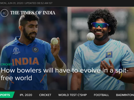 How bowlers will have to evolve in a saliva-free world