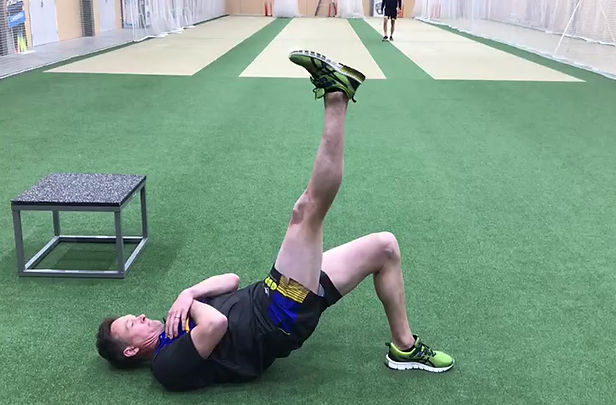 Basic body weight exercises for fast bowlers