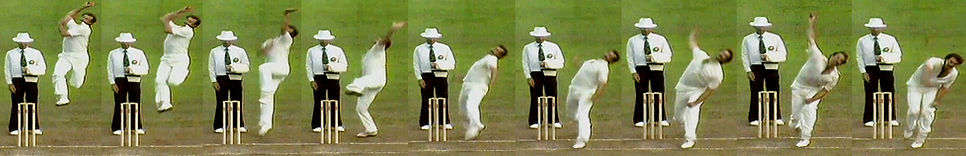Dennis Lillee image series 1981 by Pace Doctor
